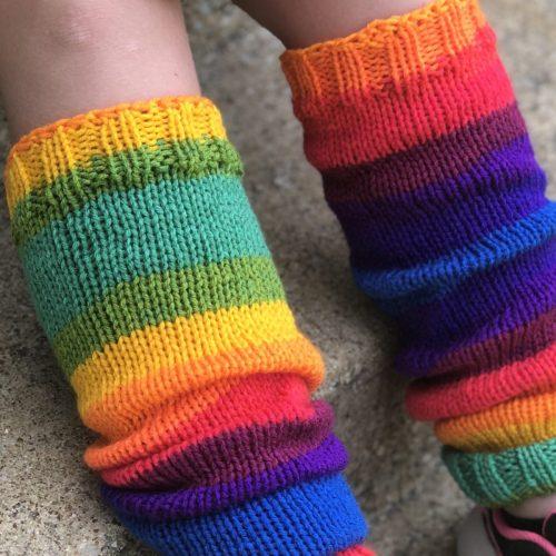 Winter Legs, Knit