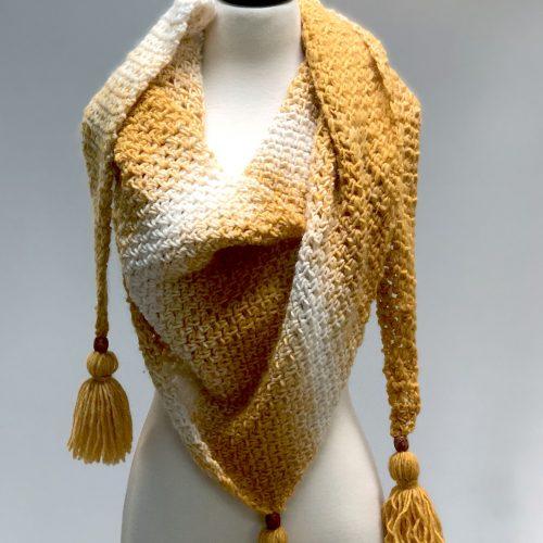 Haystacks Beginner Crochet Shawl