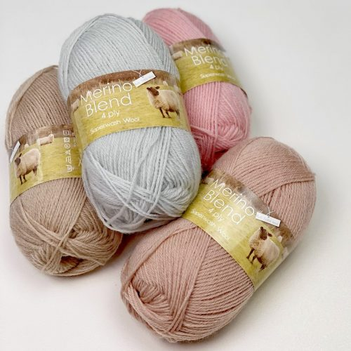 King Cole Merino Blend 4ply, yarn review