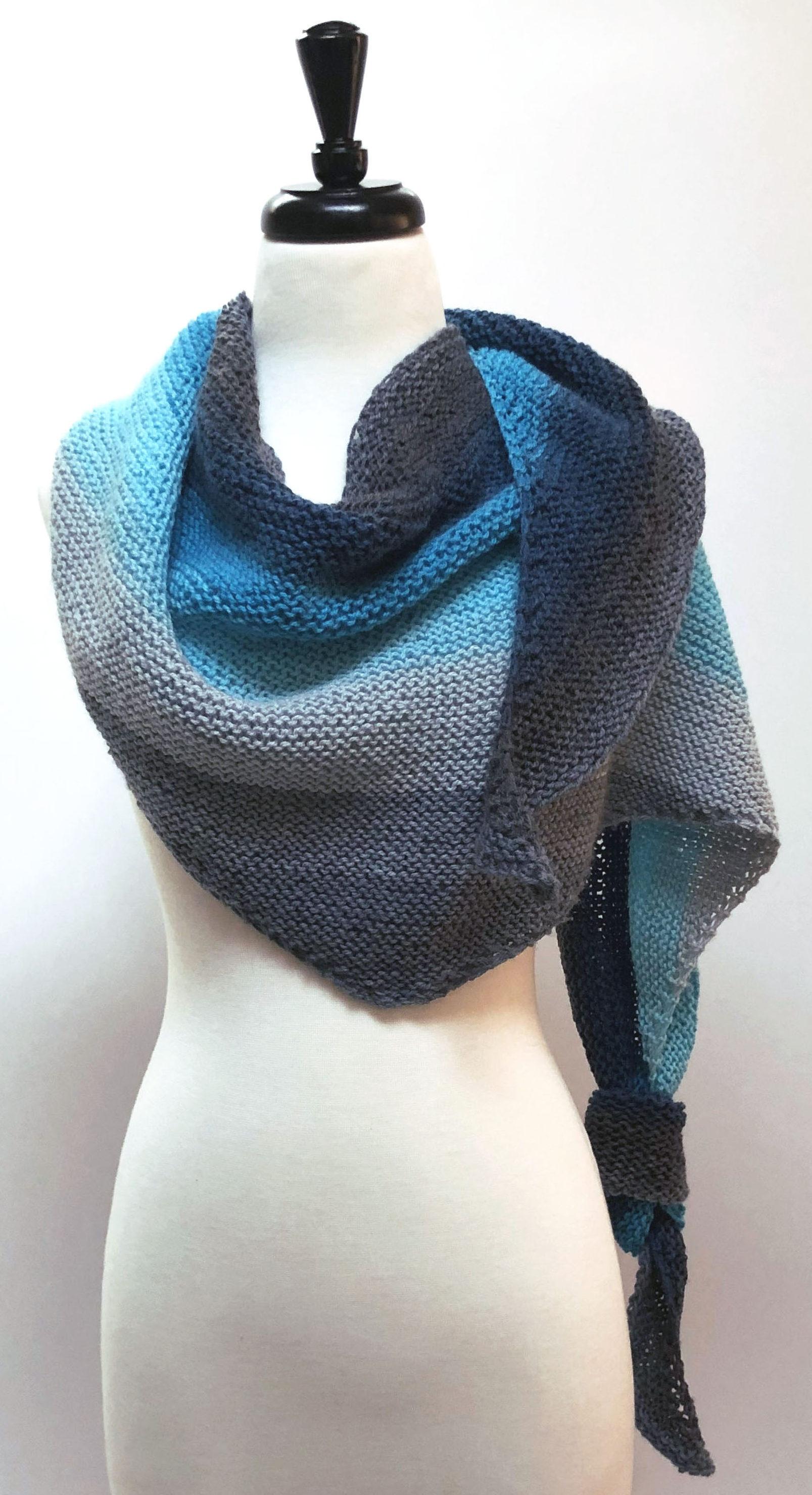 Beginner's best – Shawl One free knit pattern
