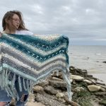 Big Squish Winter Free Crochet Wrap Up Shawl Pattern