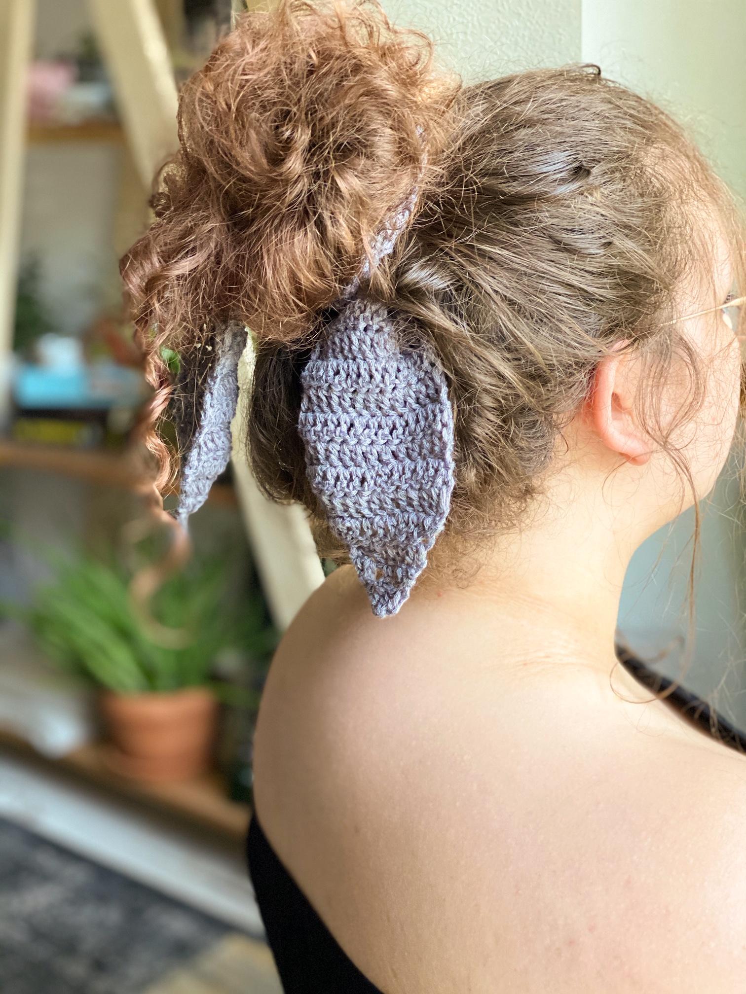Oh Sandy a FREE Hair Scarf crochet pattern