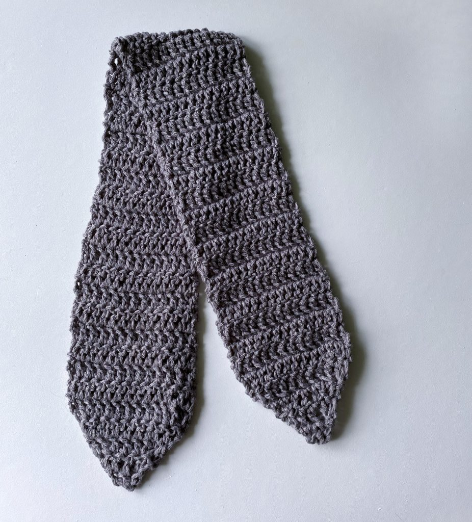 Oh Sandy a FREE Hair Scarf crochet pattern