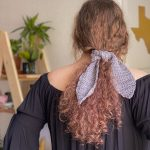 Oh Sandy – FREE Hair Scarf crochet pattern